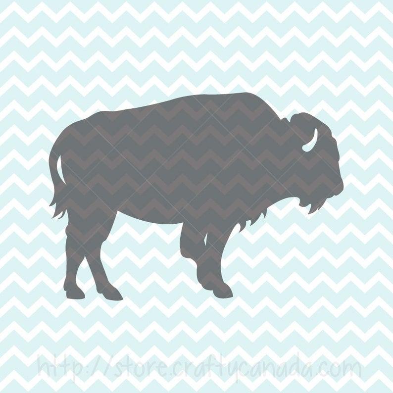 Svg and png bison. Buffalo clipart buffalo animal