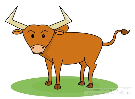 Buffalo clipart bull. Animal classroom bulljpg