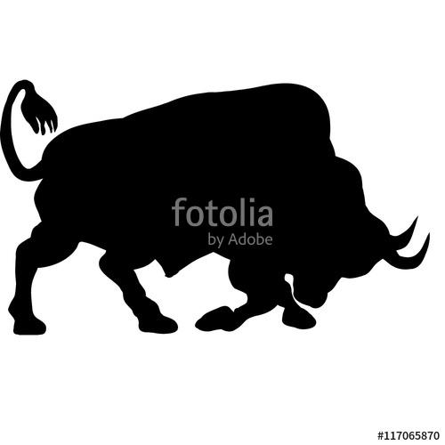 buffalo clipart bull