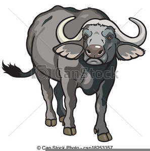 Cape free images at. Buffalo clipart clip art