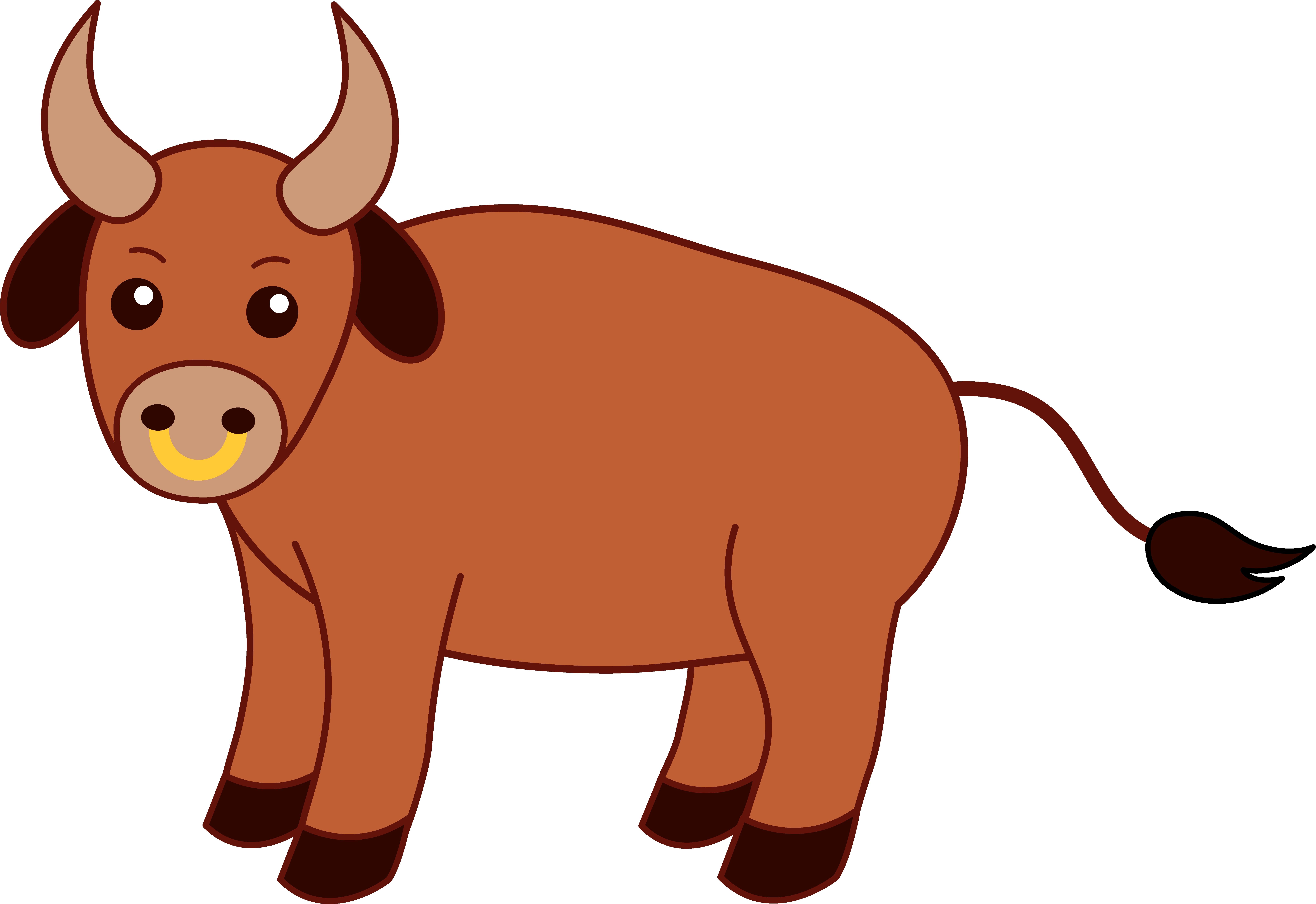 Fresh collection digital r. Buffalo clipart cute