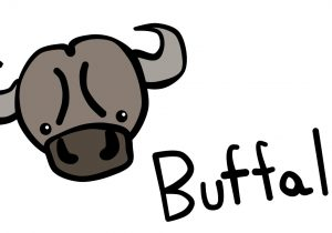 Drawing for kids at. Buffalo clipart easy