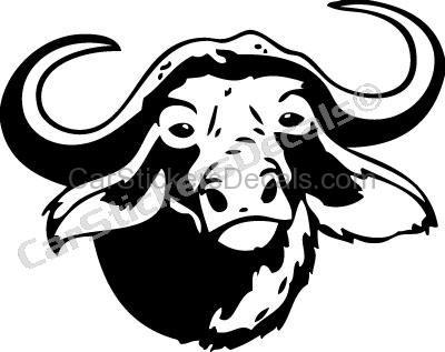 Cape drawing at getdrawings. Buffalo clipart head