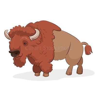 Buffalo clipart illustration. Cartoon download