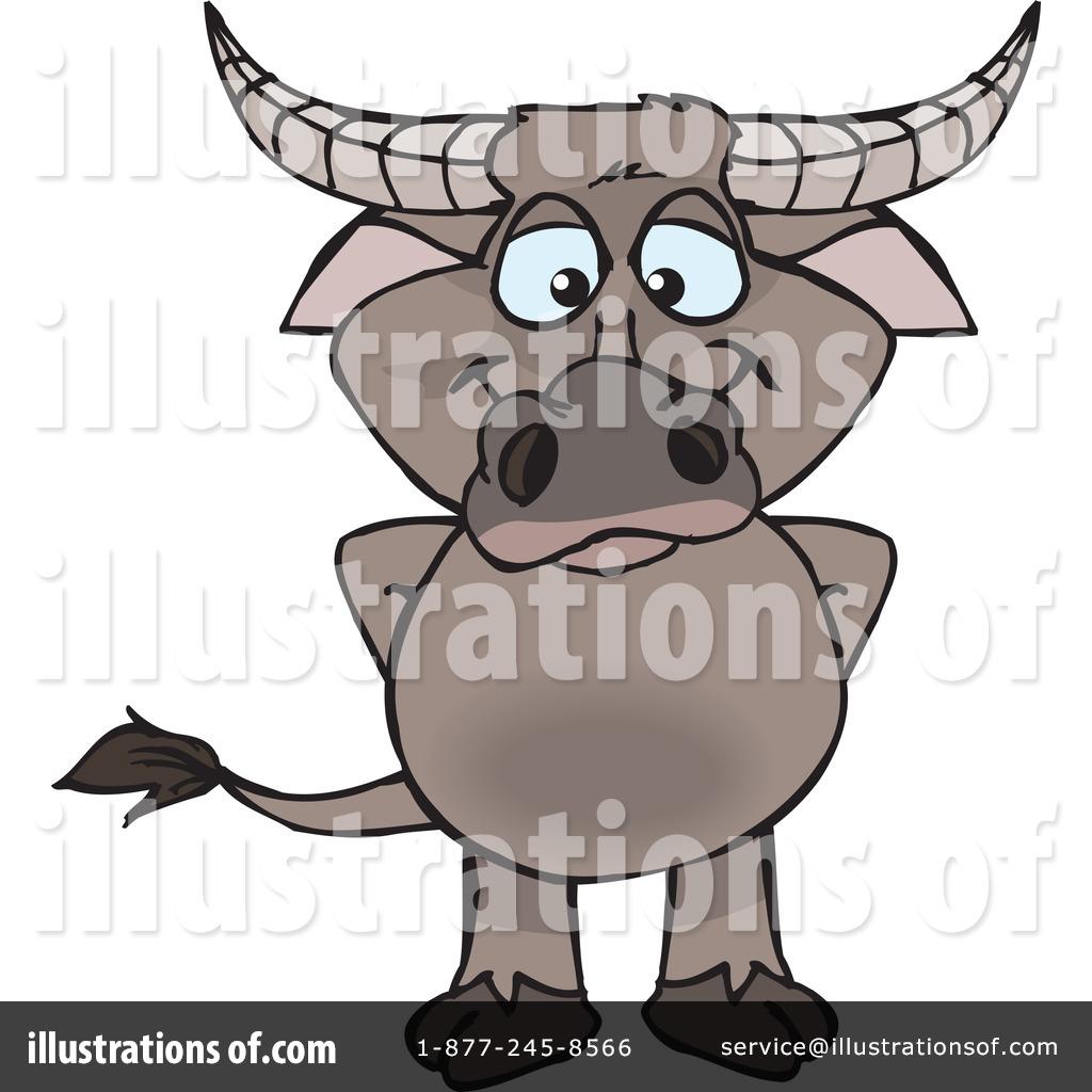 Buffalo clipart illustration. By dennis holmes designs