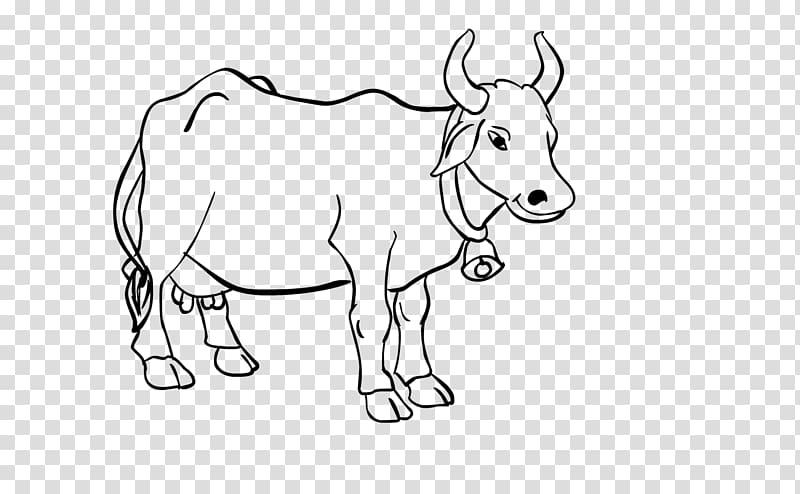 Water illustration cattle art. Buffalo clipart line