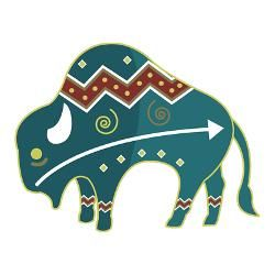 Bison clipart native american buffalo.  best tattoos images