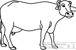 B download station page. Buffalo clipart outline