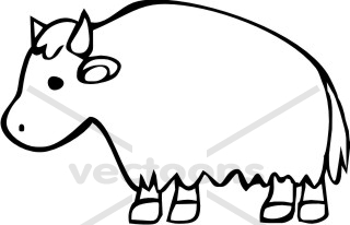 Buffalo clipart simple. Cartoon free download best