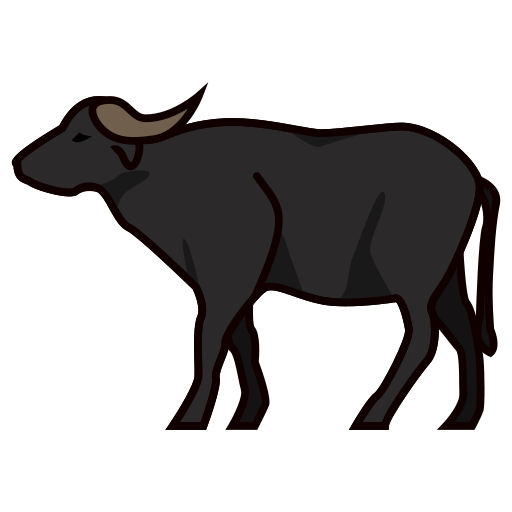 Emoji for facebook email. Buffalo clipart water buffalo
