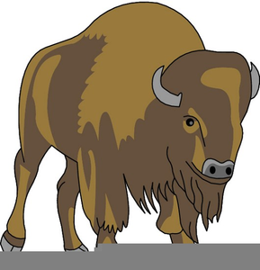 Charging free images at. Buffalo clipart yak