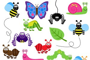And vectors illustrations creative. Bugs clipart