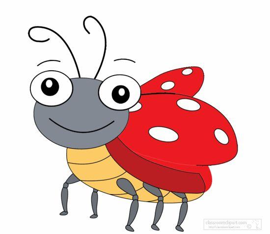 Bugs clipart animated. Animals lady bug animation