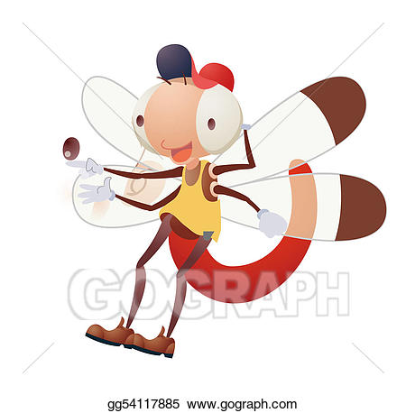 Drawing cartoon insect gg. Bug clipart animated