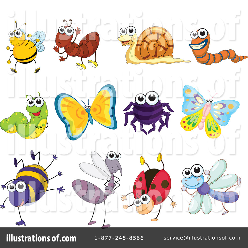 Bugs clipart butterfly. Bug illustration by graphics