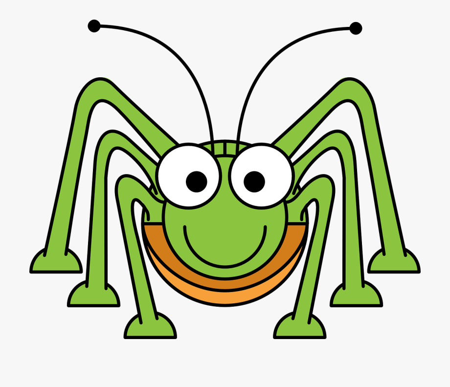 Bugs insect cute free. Bug clipart cartoon