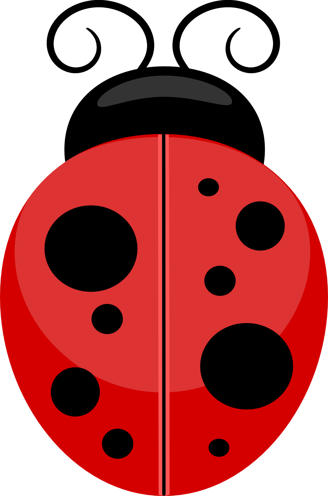 Stormdesignz ladybird bee. Bug clipart clear background