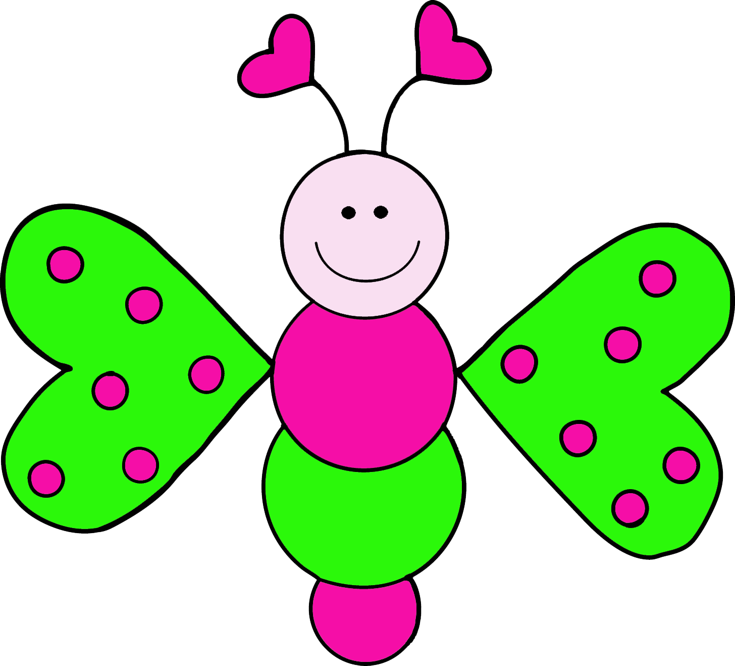 Granny panda free images. Clipart children butterfly