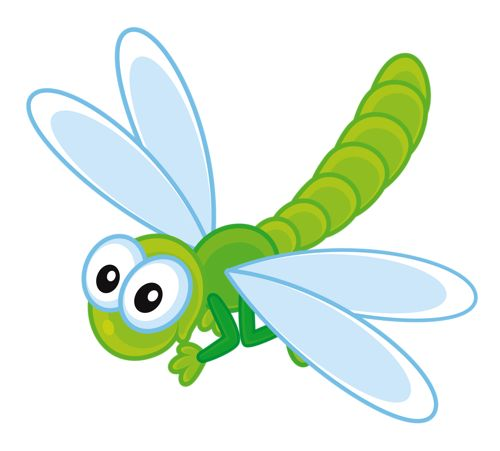 Bug clipart dragonfly.  best cute bugs