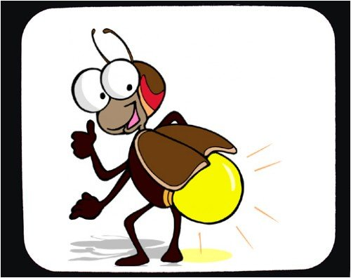 Firefly clipart lightening bug. Free cliparts download clip