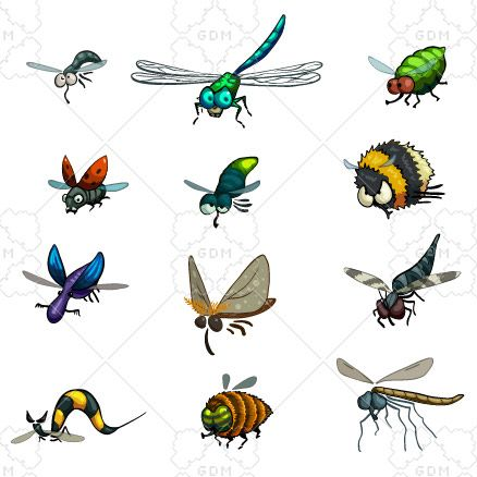 Bug clipart fly.  best funny flying