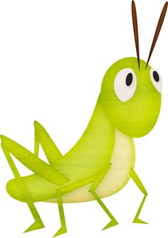 Ant and the grasshopper. Bugs clipart grass hopper