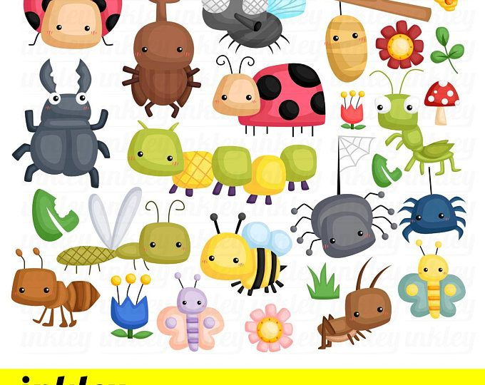 Bug clipart kid. Bugs clip art png