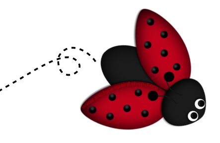 Ladybug clipart trail. Cartoon kid cliparting com
