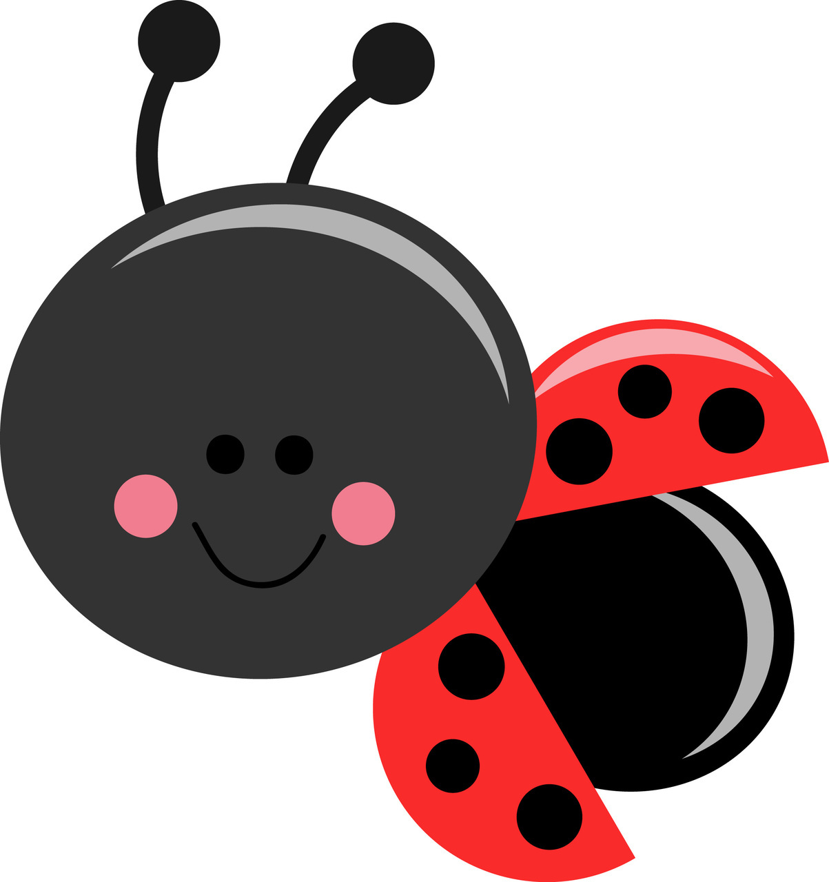 Ladybugs clipart cartoon. Free pretty bug cliparts