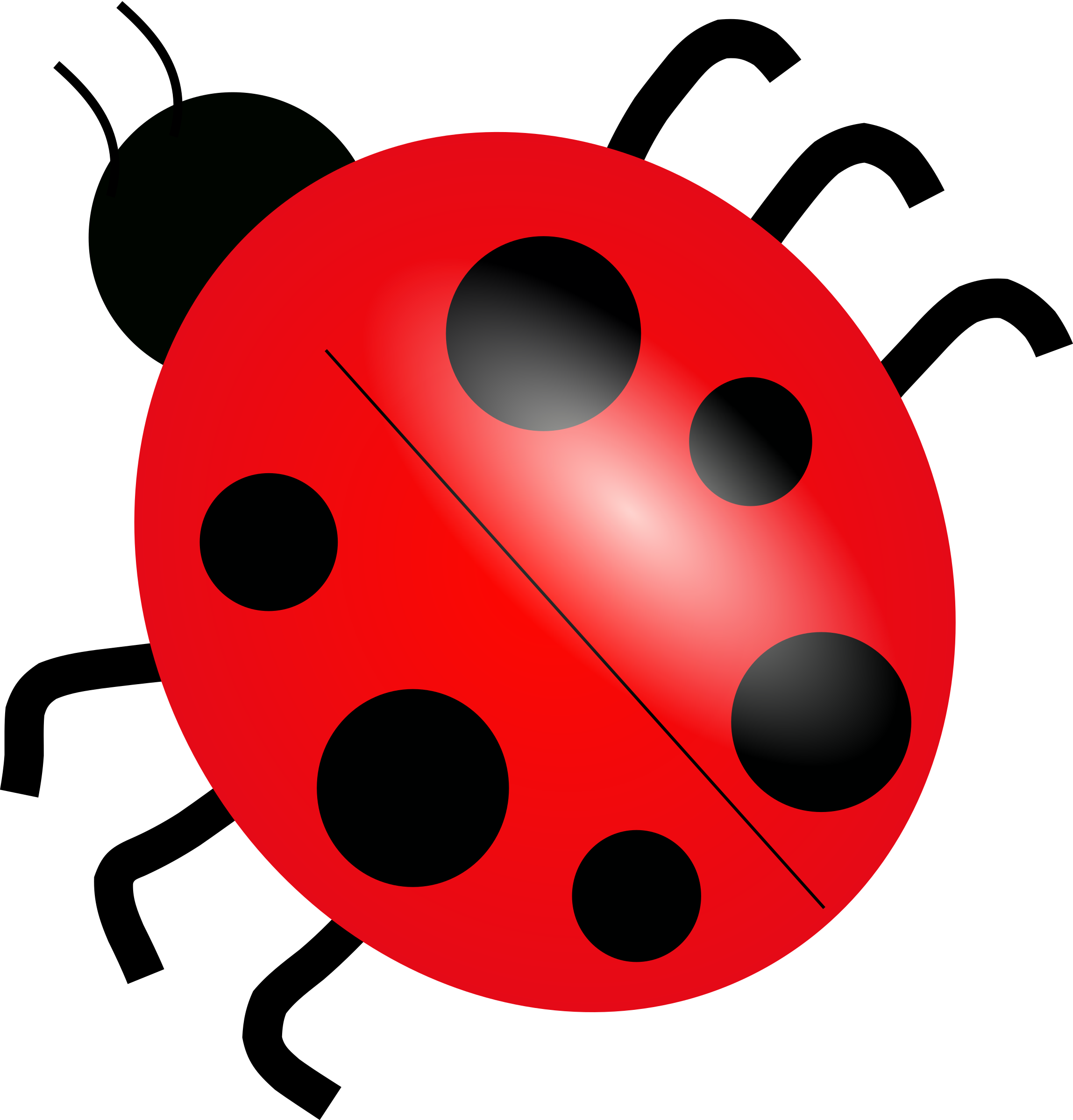 Big image png. Ladybug clipart cartoon