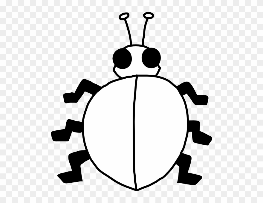 Bug lady pinclipart . Bugs clipart outline