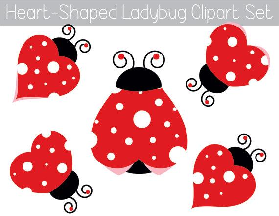 Bug clipart printable. Ladybug garden baby shower