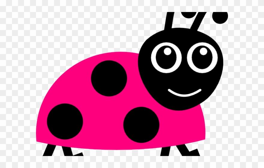 Pink cliparts ladybug cartoon. Bug clipart printable