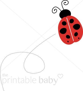Sweet ladybug clip art. Bug clipart printable