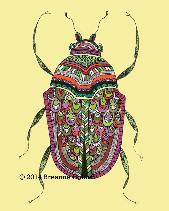 Bug clipart scarab beetle.  best art prints