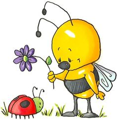 Animals clipart spring. Bugs cliparts summer