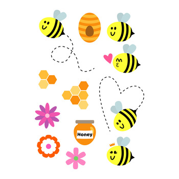 Bug clipart summer. Bee graphics insect queen