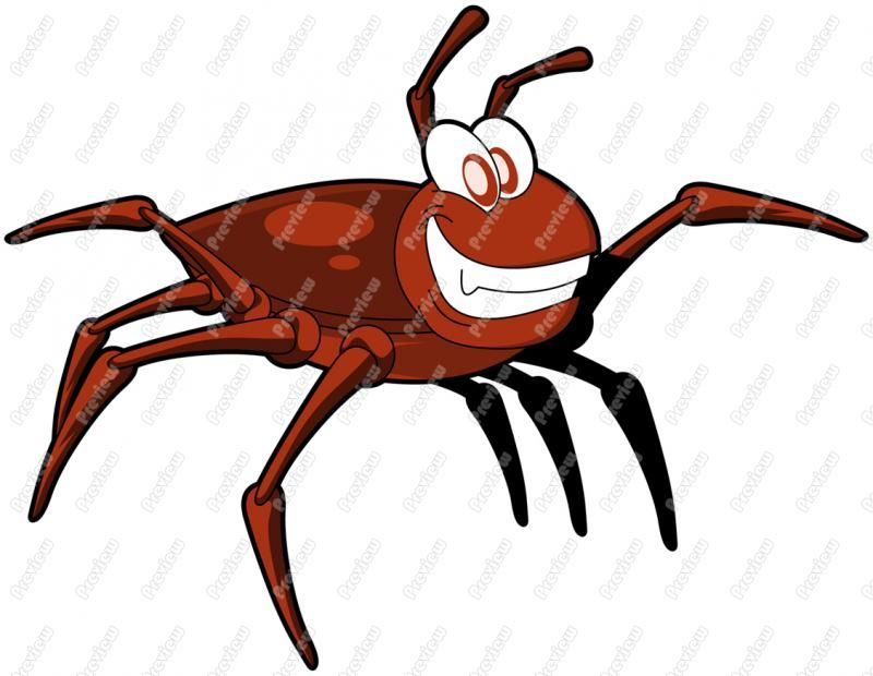 Bug clipart tick. Gallery for cartoon insect