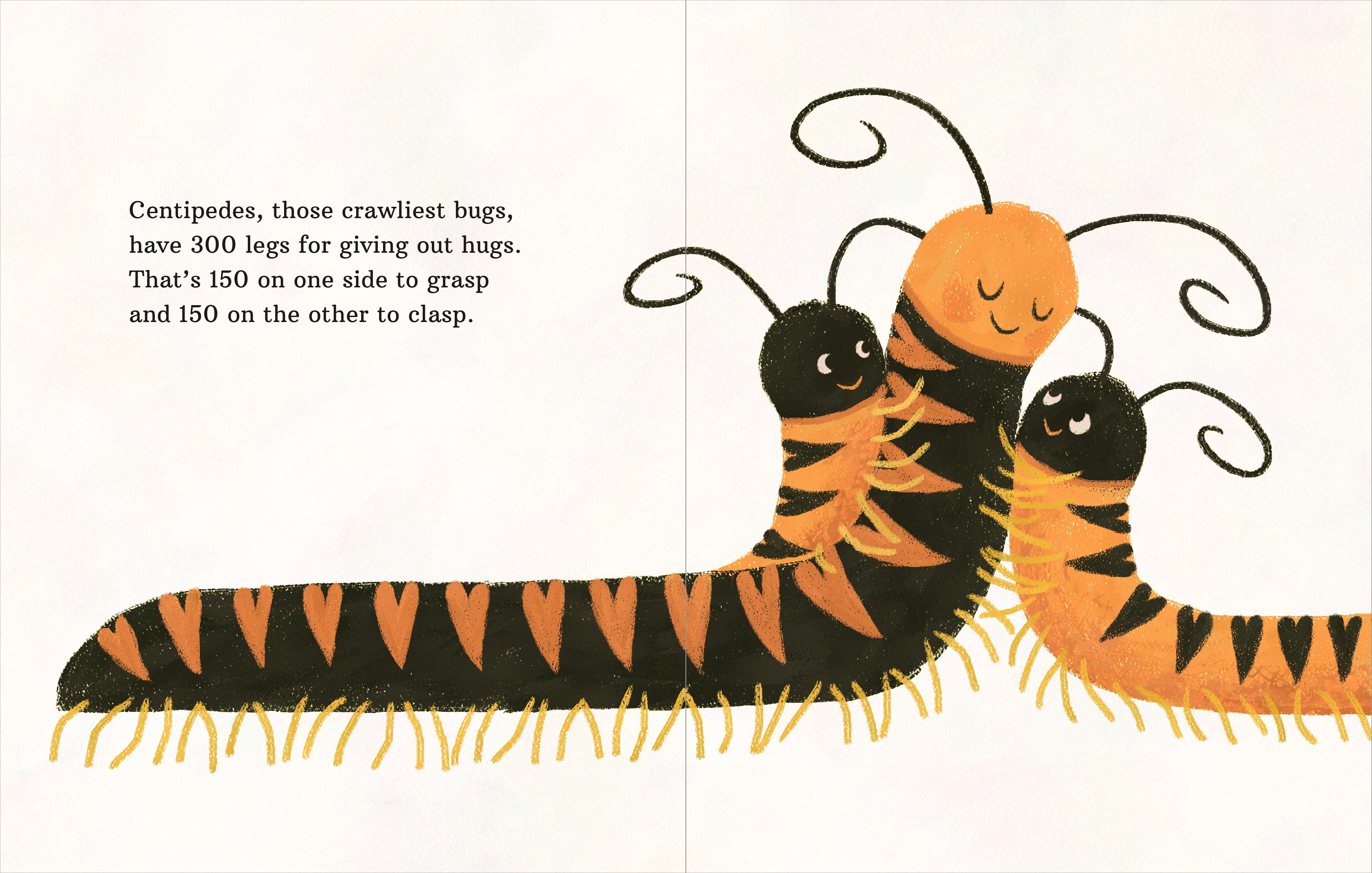 How many hugs steven. Bugs clipart centipede