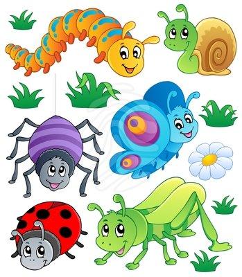 Bug clip art free. 1 clipart cute