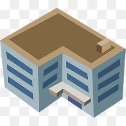Enterprise png vectors psd. Building clipart
