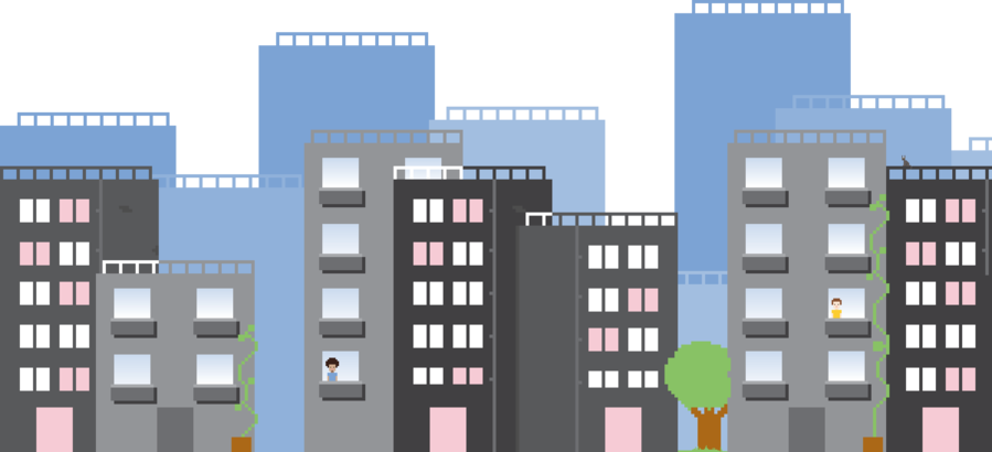 Building clipart animated. Web design product transparent