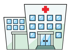 Building clipart animated. Hospital panda free images