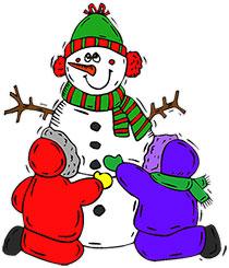 Building clipart animated. Free snowman snowmen christmas