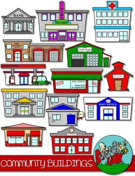 Buildings tpt . Community clipart clip art