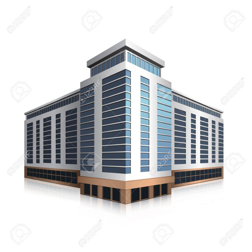 Uncategorized clip art office. Building clipart business building