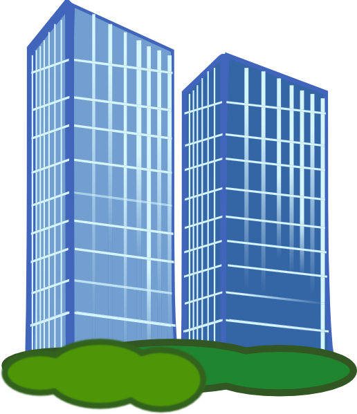 Commercial property clip art. Hotel clipart hotel building