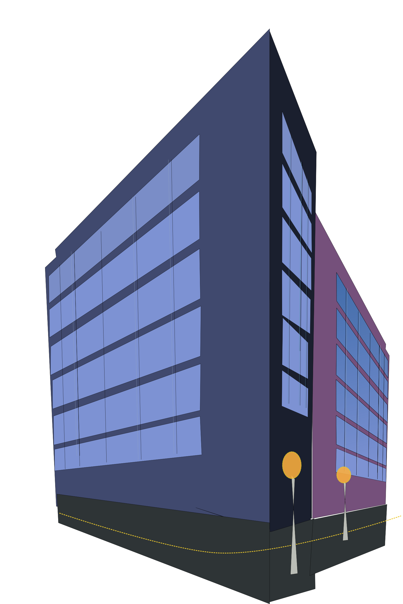 Building commercial building