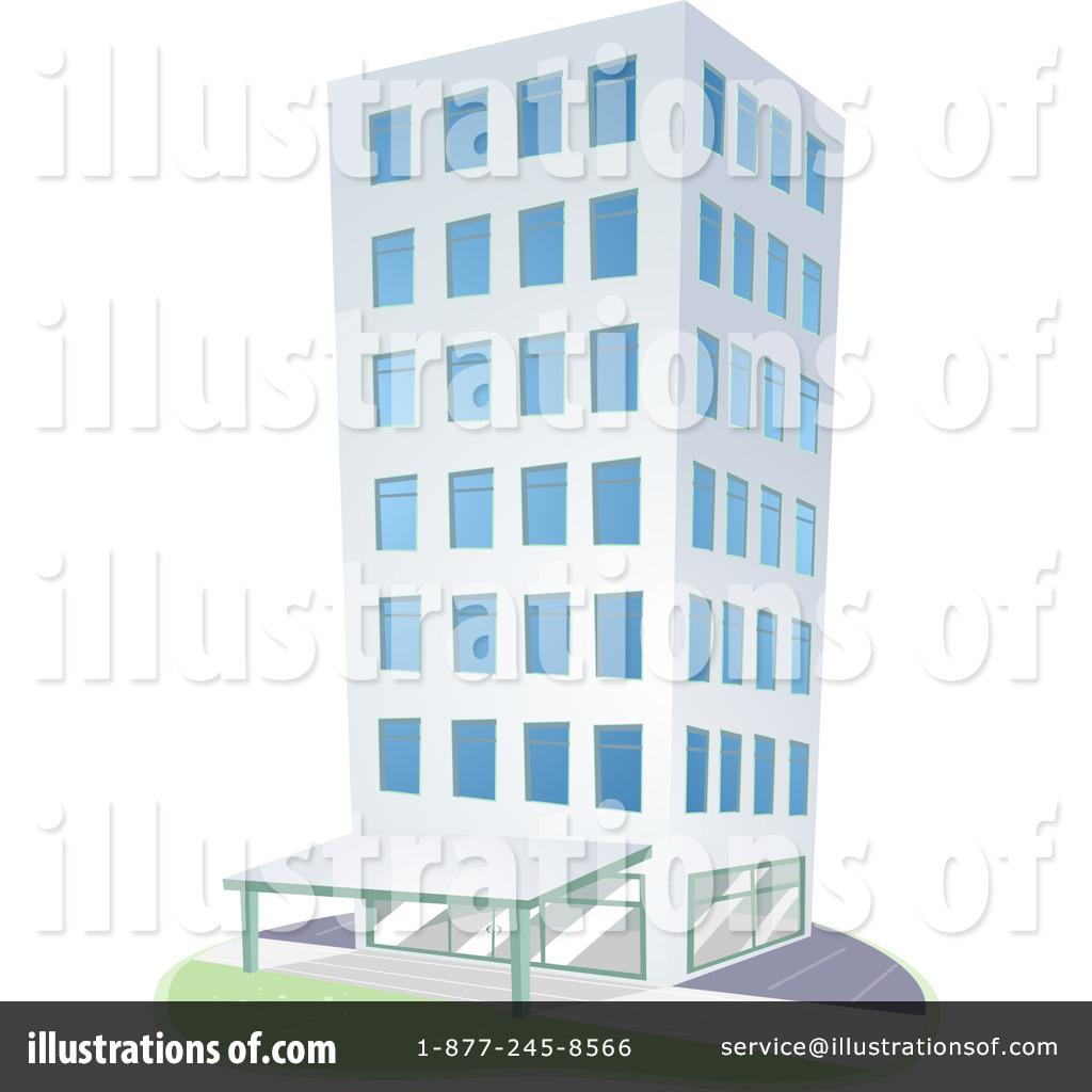 Building illustration by bnp. Buildings clipart condominium
