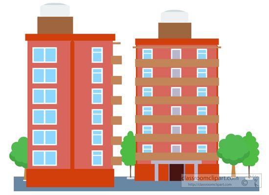Architecture building classroom . Buildings clipart condominium